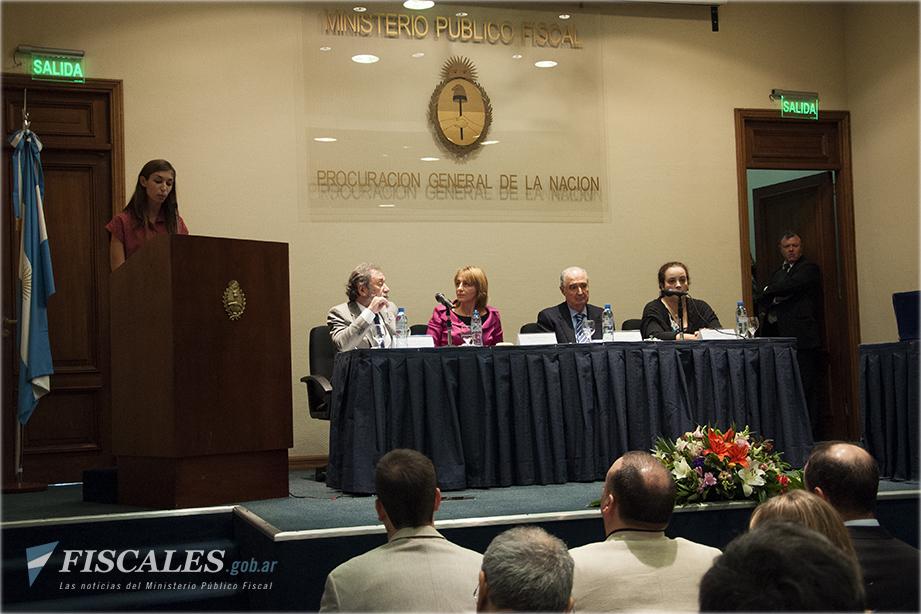 Actor por el Día Internacional de los Trabajadores y las Trabajadoras y homenaje a Nelly Ortiz  Fotos: Lucas Herrera - Ministerio Público Fiscal - www.fiscales.gob.ar