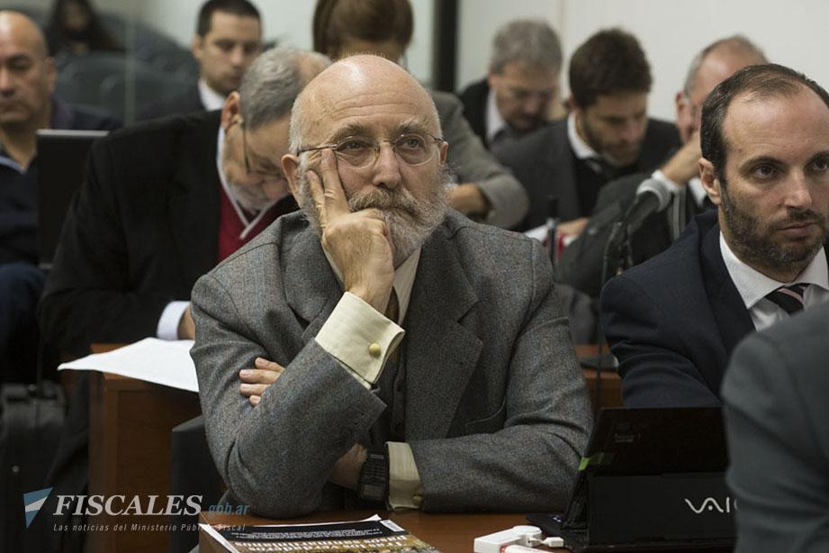 El ex secretario de Seguridad Enrique Mathov es uno de los acusados. - Fotos: Claudia Conteris/Ministerio Público Fiscal/www.fiscales.gob.ar