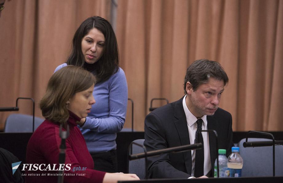 La fiscalía cumplió la cuarta jornada alegando en el juicio por la Operación Cóndor. - Fotos: Claudia Conteris/Ministerio Público Fiscal/www.fiscales.gob.ar