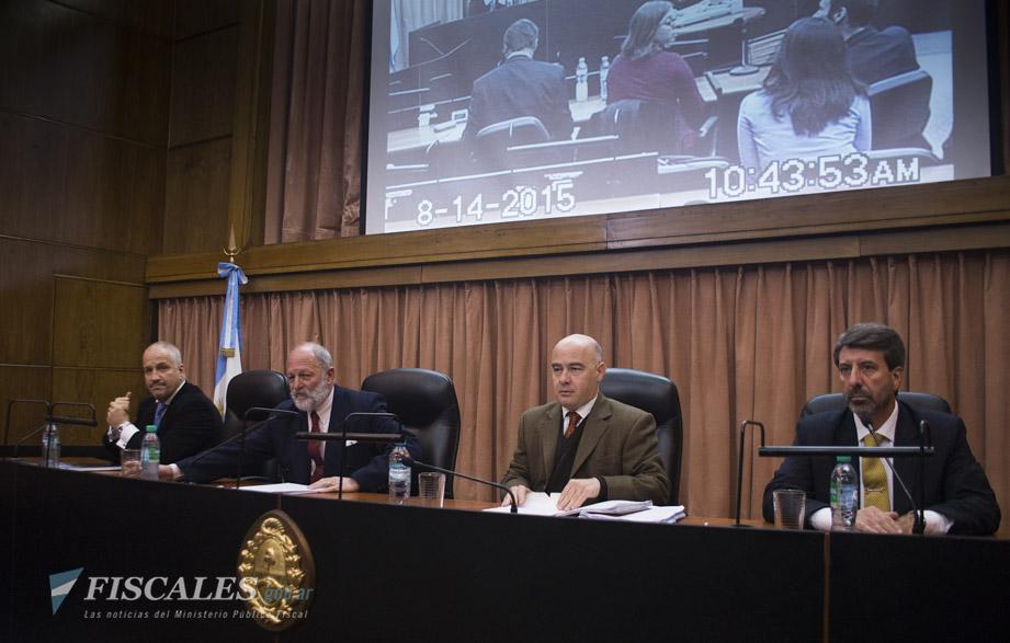 El Tribunal Oral en lo Criminal Federal N°1 inició el debate el 5 de marzo de 2013.  - Fotos: Claudia Conteris/Ministerio Público Fiscal/www.fiscales.gob.ar