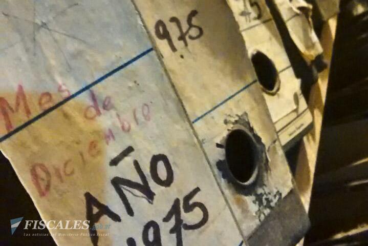 Entre el material secuestrado hay legajos de ex trabajadores víctimas de la represión ilegal. - Foto: Oficina Tucumán de la Procuraduría de Crímenes contra la Humanidad