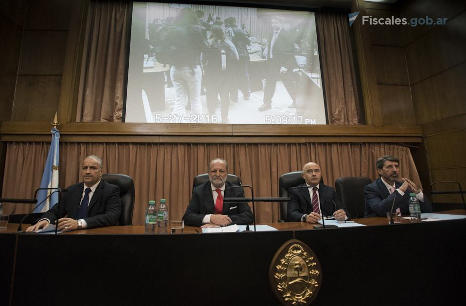El Tribunal Oral en lo Criminal Federal N°1 dictó el veredicto por unanimidad. - Fotos: Claudia Conteris/Ministerio Público Fiscal/www.fiscales.gob.ar