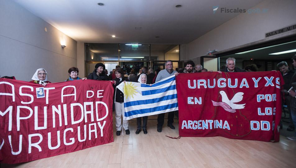 48 de las víctimas de la Operación Cóndor cuyos casos fueron juzgados eran de nacionalidad uruguaya.  - Fotos: Claudia Conteris/Ministerio Público Fiscal/www.fiscales.gob.ar