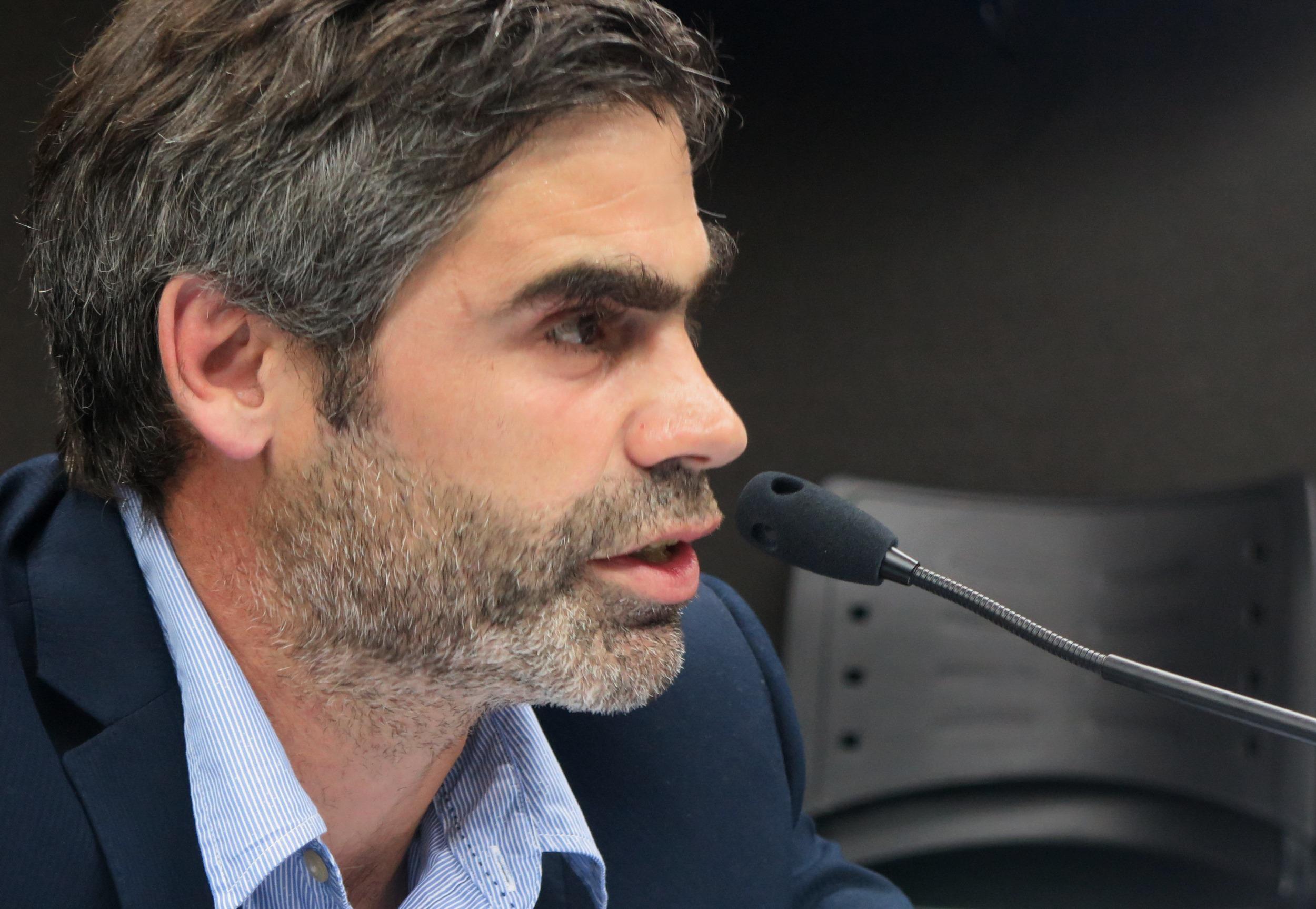 """Portela señaló que el caso tiene """"la huella indeleble de la Subzona Militar 15 en general, y de ambos imputados en particular"""". - Foto: Belén Cano / Fiscalía General de Mar del Plata."""