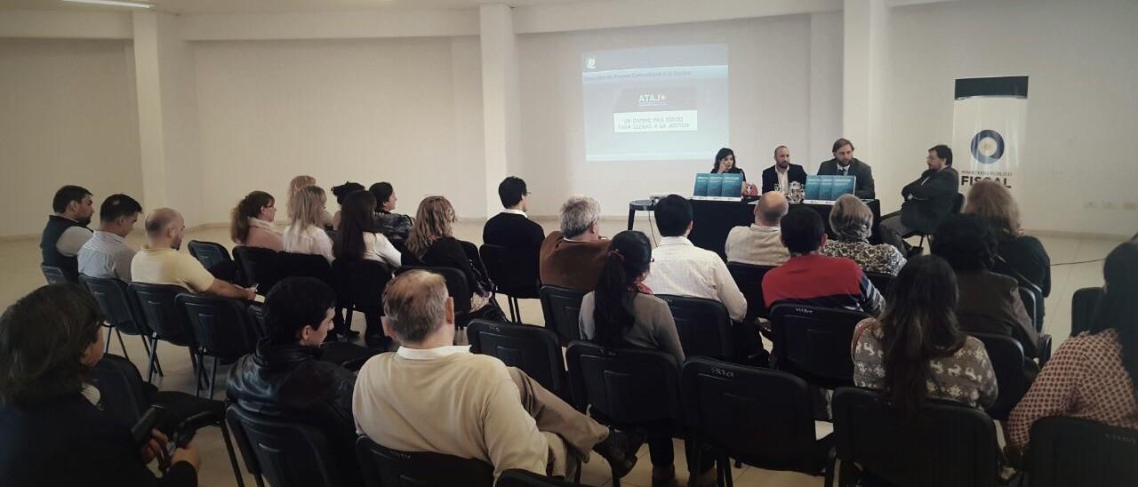 La presentación se realizó en la Casa de las Culturas de la ciudad de Resistencia. -