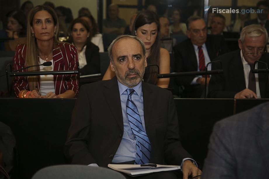 El acusado ex juez federal Juan José Galeano. - Foto: Matías Pellón/ Ministerio Público Fiscal/www.fiscales.gob.ar