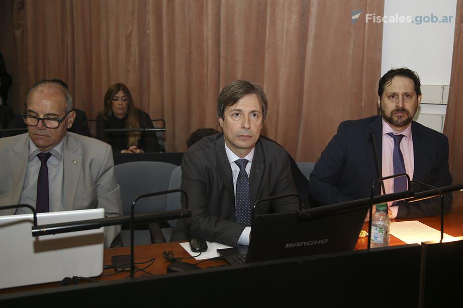 Roberto Salum y Miguel Yivoff, fiscales de la UFI AMIA. - Foto: Matías Pellón/ Ministerio Público Fiscal/www.fiscales.gob.ar