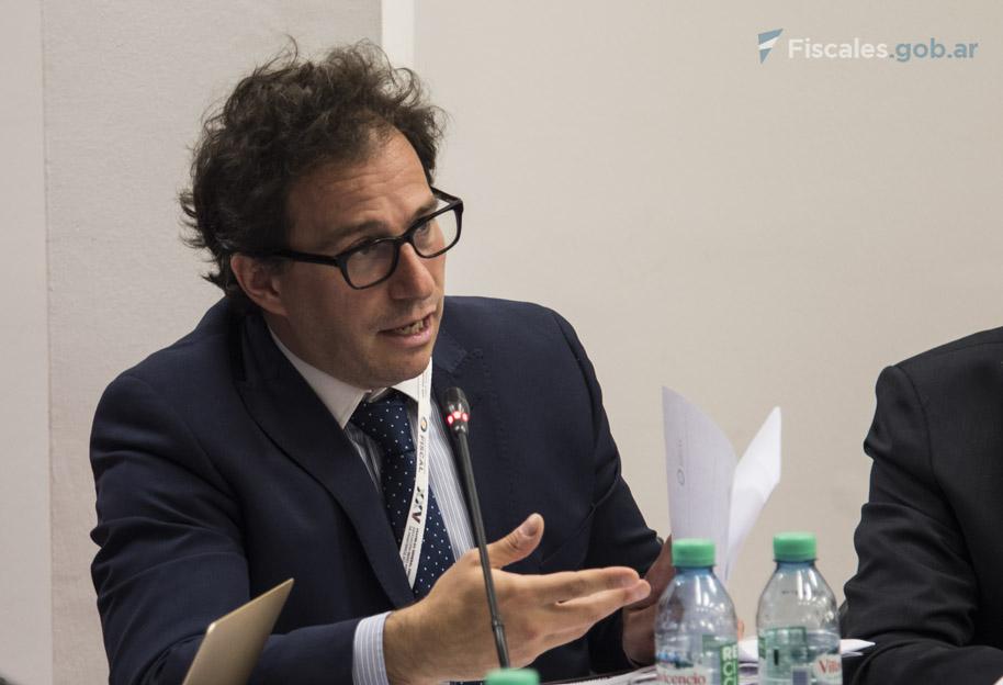 Diego Solernó, director general de Cooperación Regional e Internacional de la PGN. - Foto: Claudia Conteris/ Ministerio Público Fiscal/www.fiscales.gob.ar
