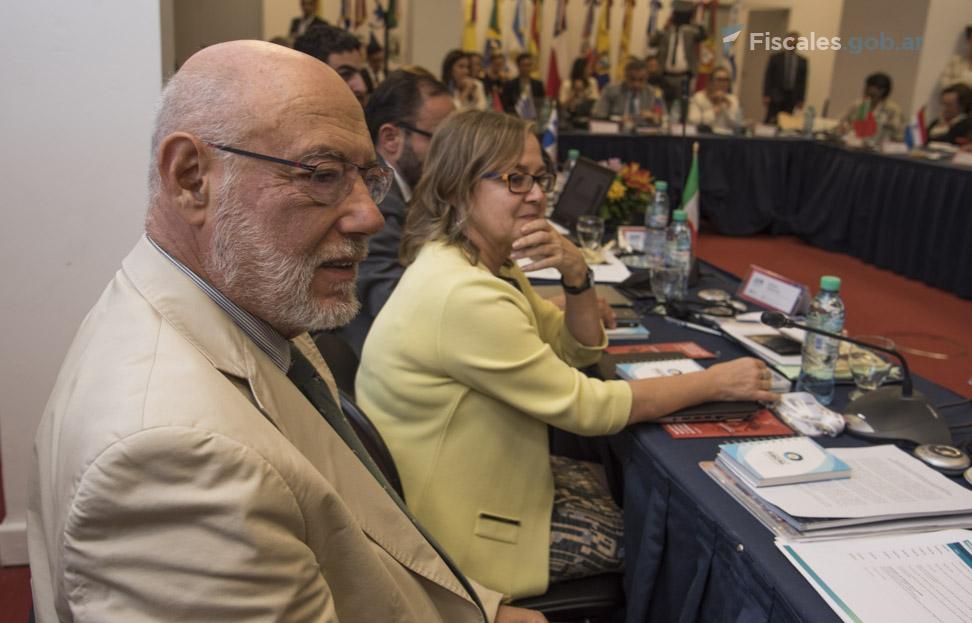 José Manuel Maza Martín, fiscal general del Estado del Reino de España, ejercerá la Secretaría General de AIAMP. - Foto: Claudia Conteris/ Ministerio Público Fiscal/www.fiscales.gob.ar