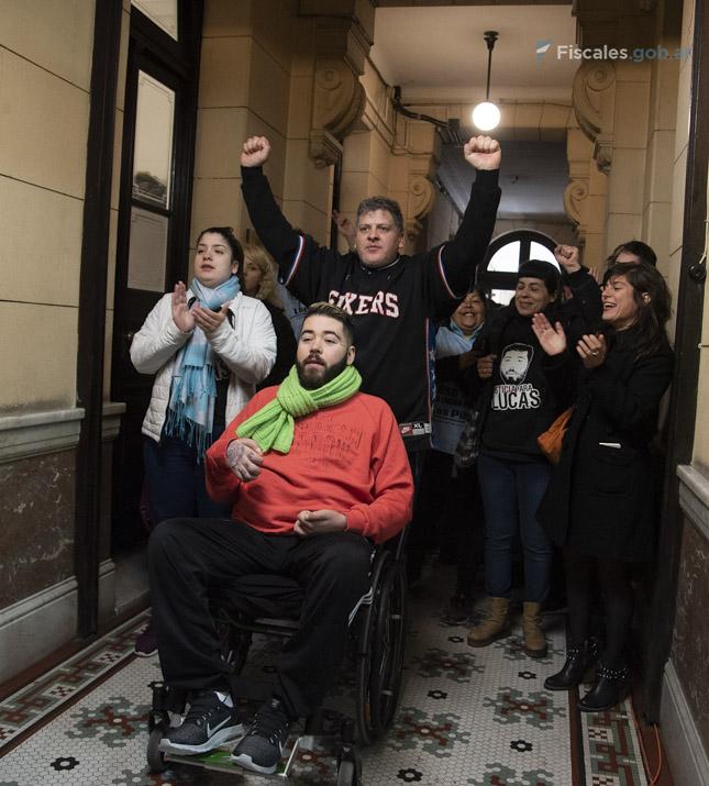 Parte de la familia de Lucas Cabello declaró en la primera audiencia del juicio. - Foto: Claudia Conteris/ Ministerio Público Fiscal/www.fiscales.gob.ar
