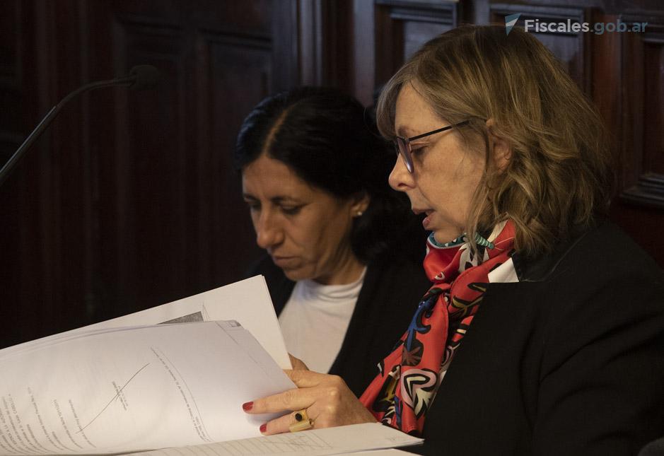 La fiscal García Netto representa al MPF. - Foto: Claudia Conteris/ Ministerio Público Fiscal/www.fiscales.gob.ar