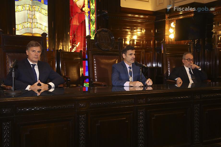 El Tribunal Oral en lo Criminal y Correccional Nº 1 emitió su veredicto esta tarde. - Foto: Matías Pellón/ Ministerio Público Fiscal/www.fiscales.gob.ar