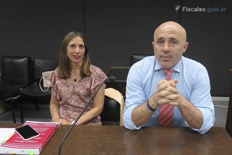 El fiscal general Juan Manuel Pettigiani representa al MPF en el juicio. - Foto: Belén Cano.