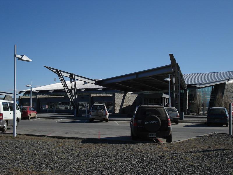 La víctima fue detenida en el aeropuerto de El Calafate. -