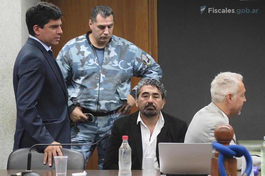 El MPF pidió 35 años de prisión para el principal acusado. - Foto: Belén Cano.