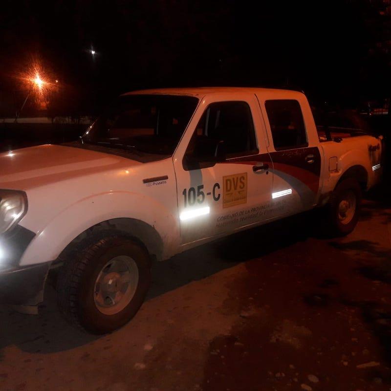 El acusado fue detenido cuando regresaba a la localidad salteña de Cobos en un vehículo oficial. -
