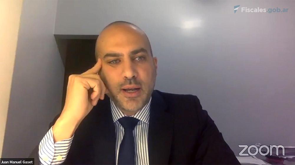 Auxiliar fiscal Juan Manuel Gaset. -