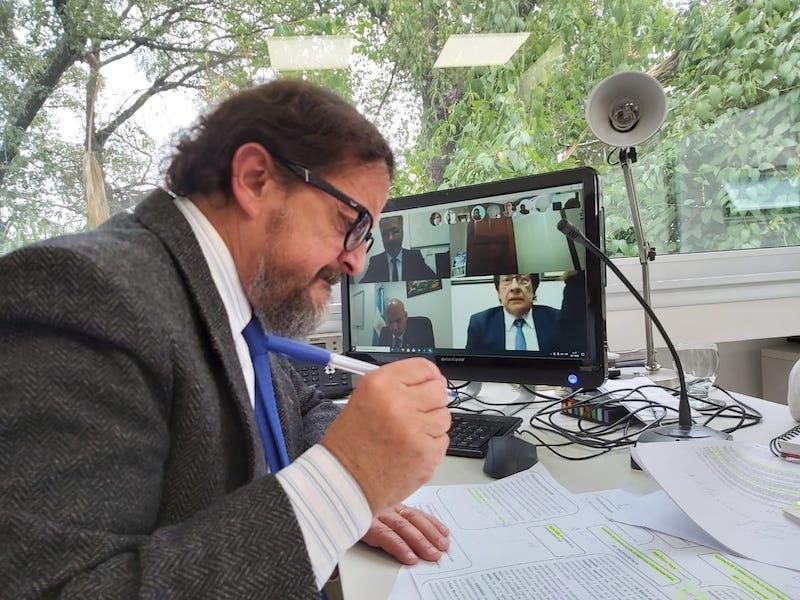 La audiencia fue por videoconferencia y participaron fiscales federales de Salta, Orán y Tartagal. -
