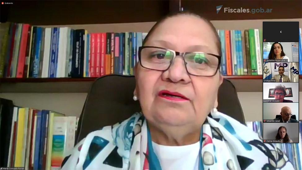 Fiscal general y jefa del Ministerio Público de Guatemala, María Consuelo Porras Argueta. -