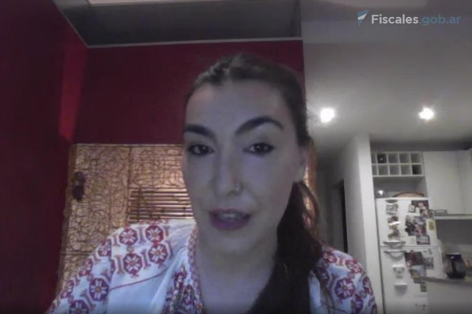 Camila Margariños, psicóloga de la DOVIC. -