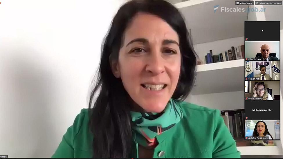 La fiscal a cargo de la UFEM, Mariela Labozzetta. -