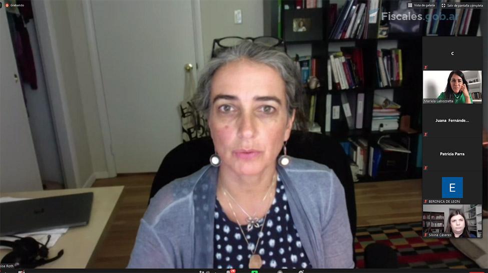 Françoise Roth, consultora de ONU Mujeres. -