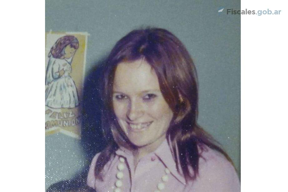 María Isabel Mendivil fue secuestrada en marzo de 1975, mientras su hija de 10 años dormía. La víctima transitaba un embarazo de algunas semanas. -