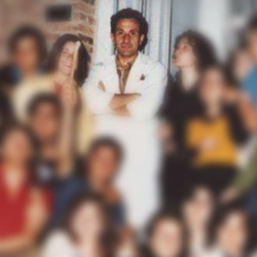 El profesor de Huanguelén, Rodolfo Gini, secuestrado y asesinado el 2 de septiembre de 1974. -