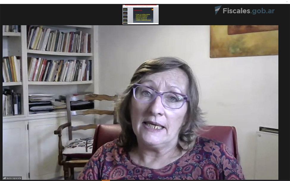 Laura Capacete, especialista e investigadora de abuso sexual infantil. -