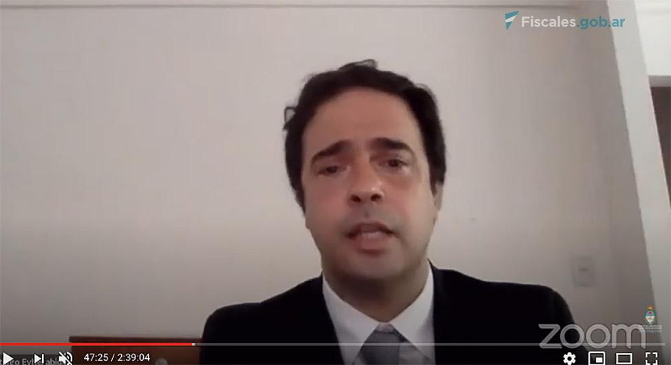 El fiscal Santiago Eyherabide inició la exposición del MPF -