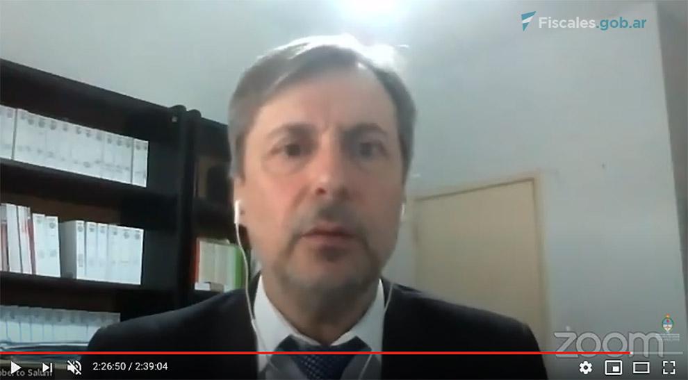 El alegato continuó a cargo del fiscal Roberto Salum. Terminará la semana próxima. -