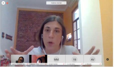 Malena Nisman, coordinadora del Programa Especial de Acompañamiento a Víctimas de Trata y Explotación de Personas de la DOVIC. -