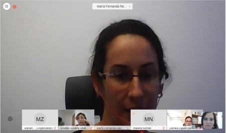 Fernanda Rebasa, integrante del equipo  del Programa Especial de Acompañamiento a Víctimas de Trata y Explotación de Personas de la DOVIC. -
