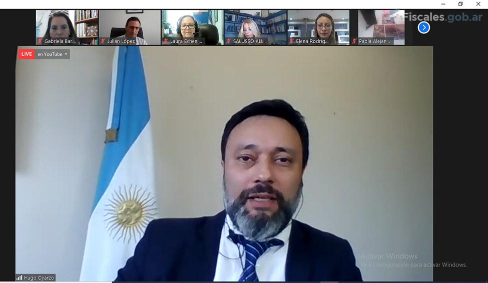 Víctor Hugo Oyarzo, subsecretario de Acceso a la Justicia del Ministerio de Justicia y Derechos Humanos de la Nación. -