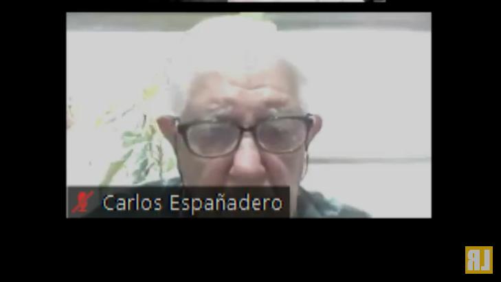 Detenido en prisión domiciliaria, Españadero cumple actualmente una condena a prisión perpetua dictada en 2014 por el TOCF de Comodoro Rivadavia. - Captura de pantalla del canal de Youtube La Retaguardia.