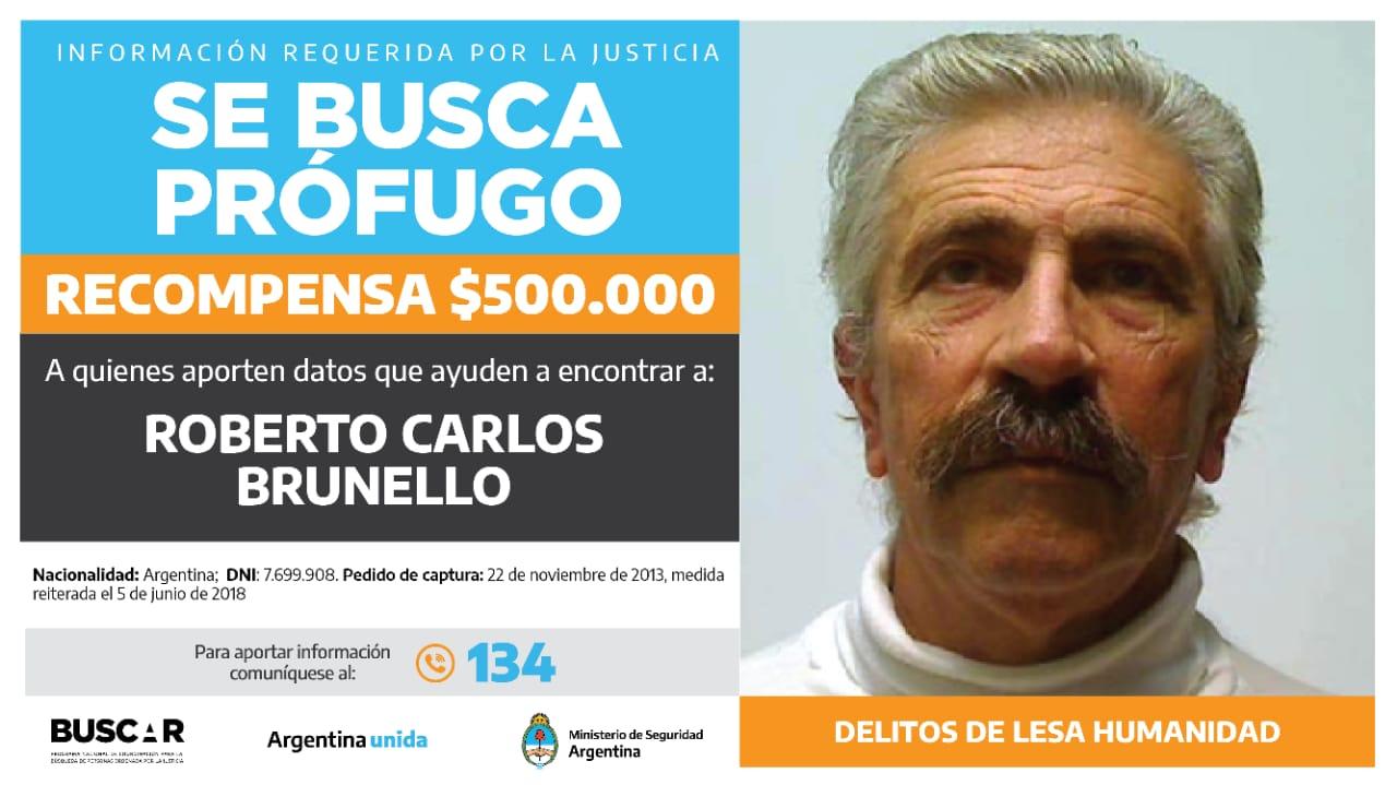 Buscado por la justicia federal de Bahía Blanca. -