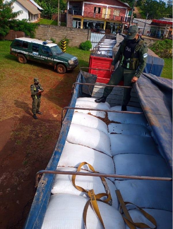 Foto: Gendarmería Nacional.
