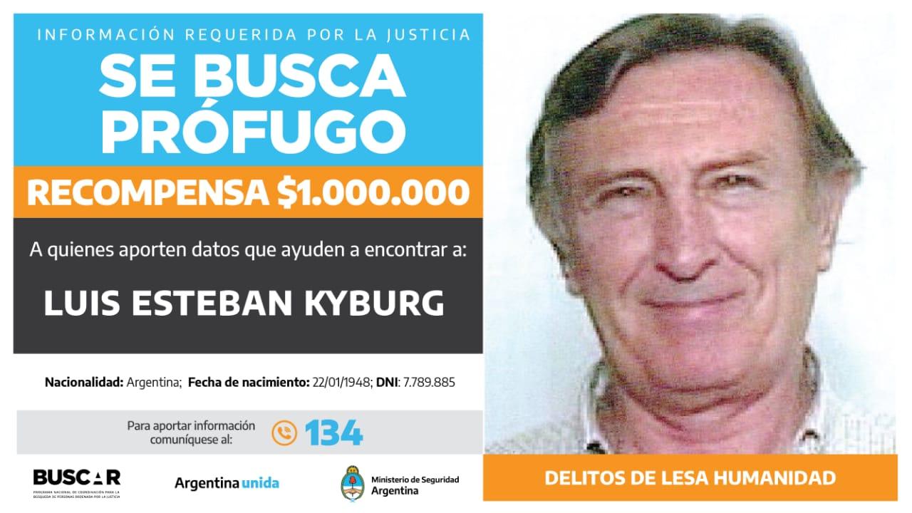 Buscado por la justicia federal de Mar del Plata. -
