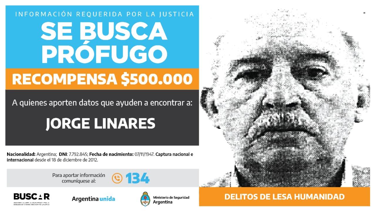 Buscado por la justicia federal de San Rafael, Mendoza. -