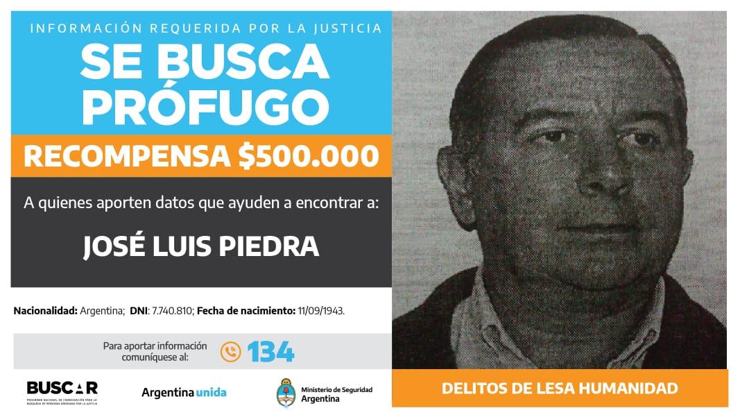 Buscado por la justicia federal de Mendoza. -