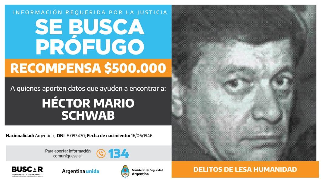 Buscado por la justicia federal de Tucumán. -