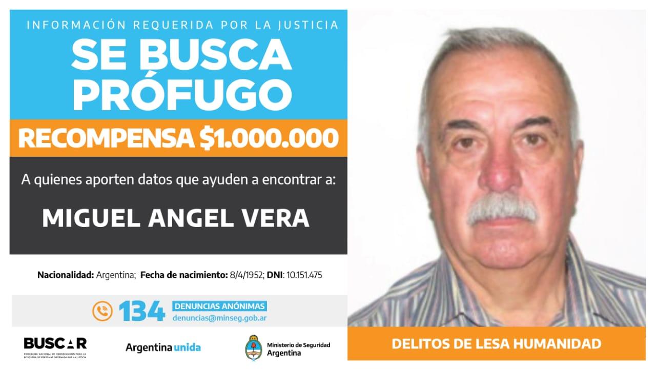 Buscado por la justicia federal de Rosario. -