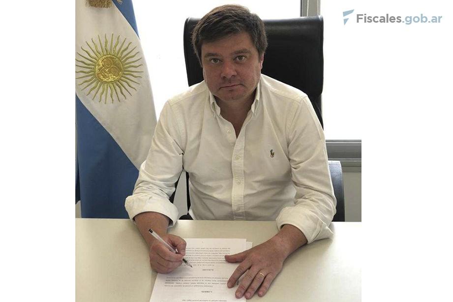 El fiscal Francisco Snopek está a cargo del Área de Flagrancia de la Unidad Fiscal Salta. - Foto: Unidad Fiscal Salta