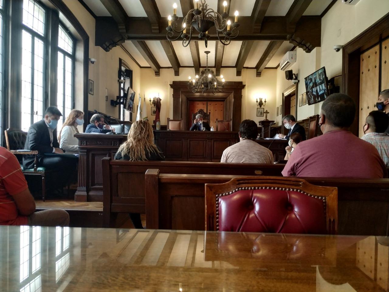 En la audiencia de control de detención, el juez Bavio accedió al pedido de prisión preventiva y dio sesenta días a la fiscalía para culminar la investigación. - Foto: Fiscales.gob.ar