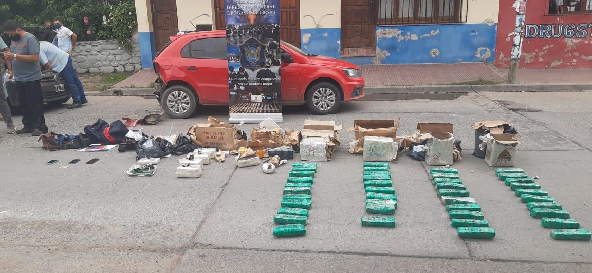 Los procedimientos se llevaron a cabo el 13 de enero pasado con la colaboración de efectivos de la División de Investigaciones contra la Narcocriminalidad de la Policía de Salta. - Imágenes remitidas por la Unidad Fiscal Salta.
