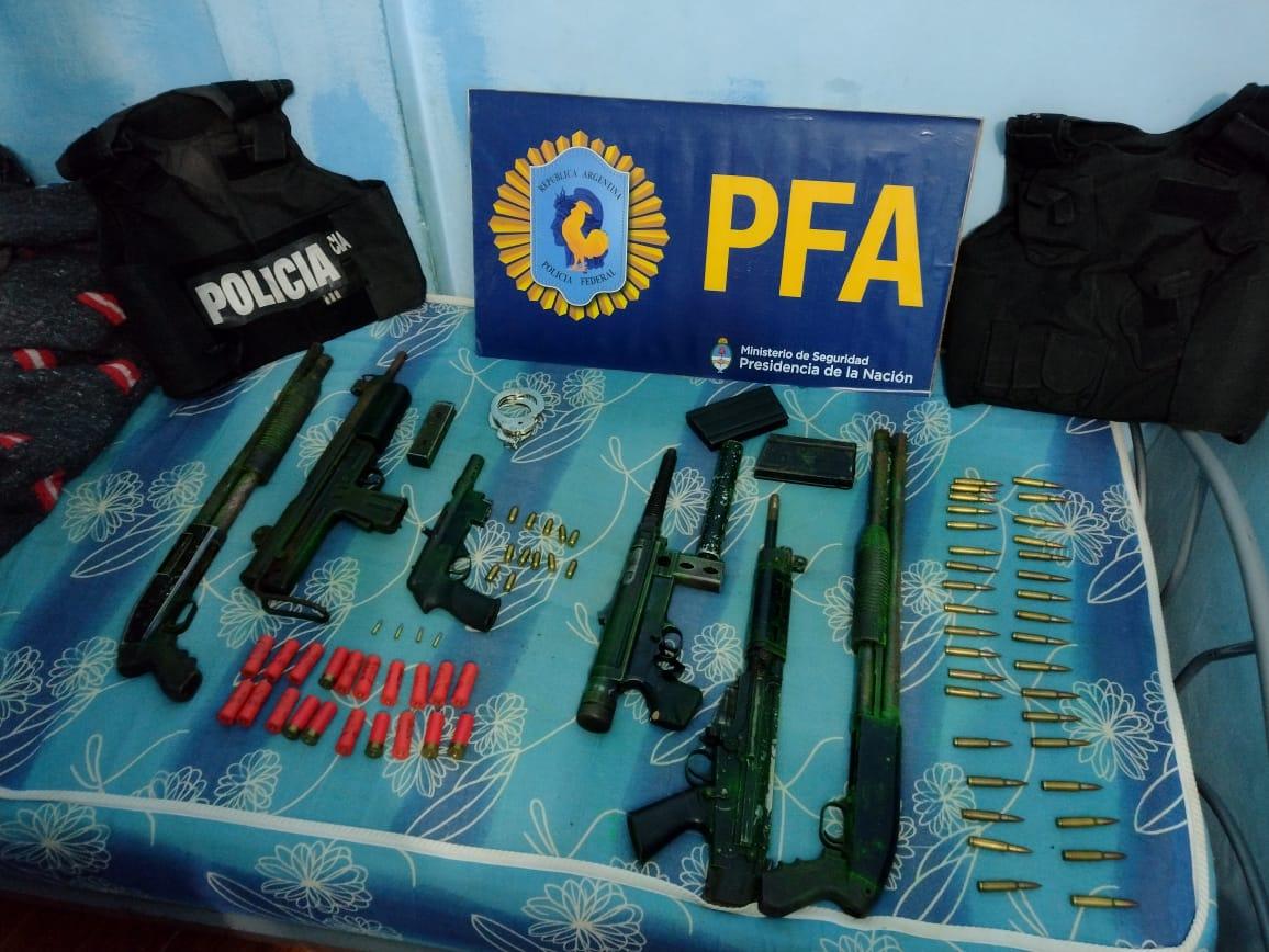 Fotos: Policía Federal Argentina.