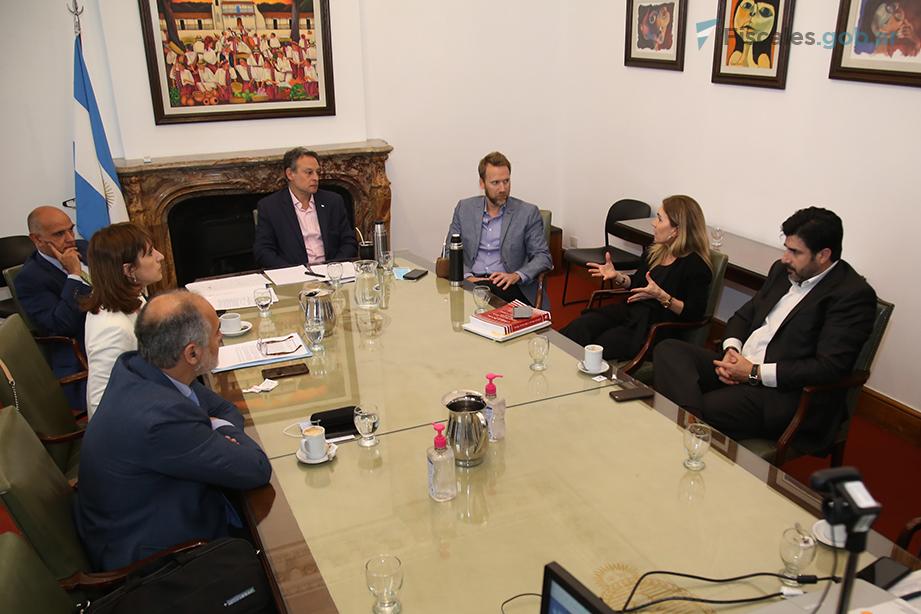 La mesa de trabajo se reunió el 6 de octubre, convocada por el procurador Casal.  - Foto: Matías Pellón / Fiscales.gob.ar